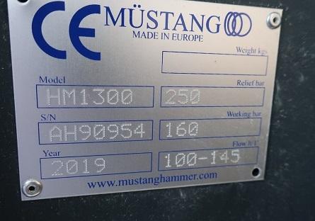 Martello idraulico Mustang Hammer HM1300 in vendita - foto 3