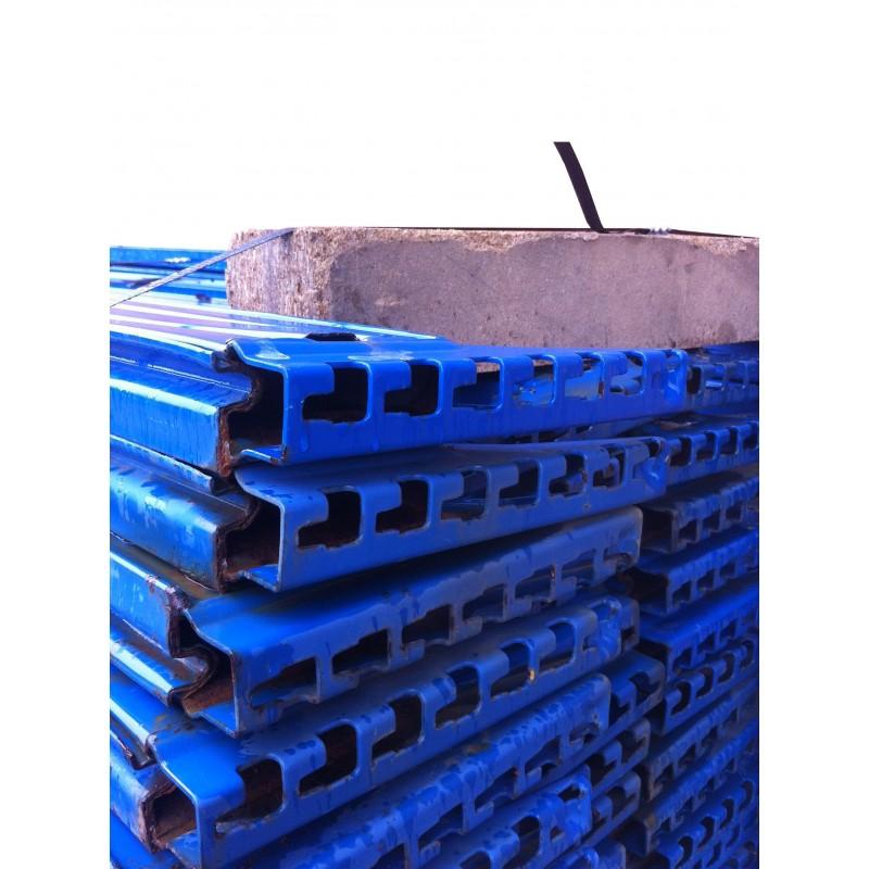 Traverso blu in metallo per scaffalature Metal system in vendita - foto 3