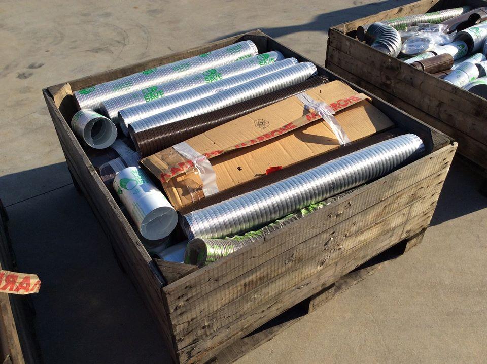 Stock tubi stufa SAVE vari diametri e colori pz 400 in vendita - foto 3