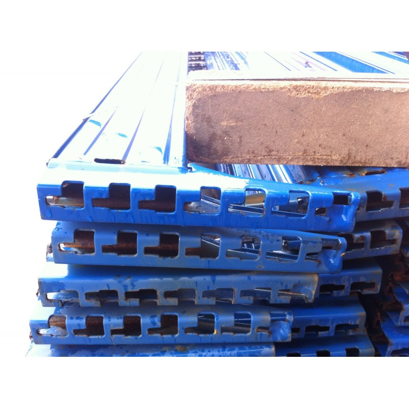 Traverso blu in metallo per scaffalature Metal system in vendita - foto 2