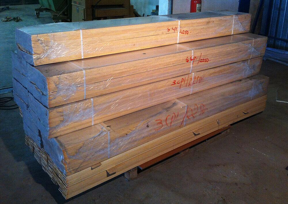 Mostrina per porta in legno massello grezzo L 225 cm in vendita - foto 2