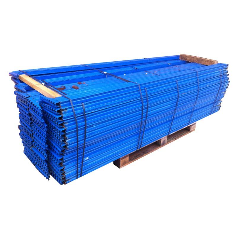 Traverso blu in metallo per scaffalature Metal system in vendita - foto 1