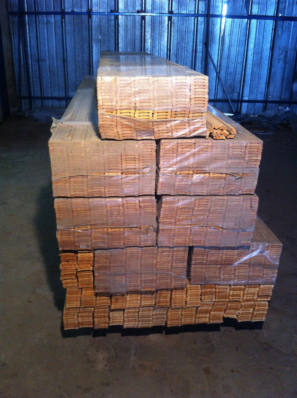 Mostrina per porta in legno massello grezzo L 225 cm in vendita - foto 4