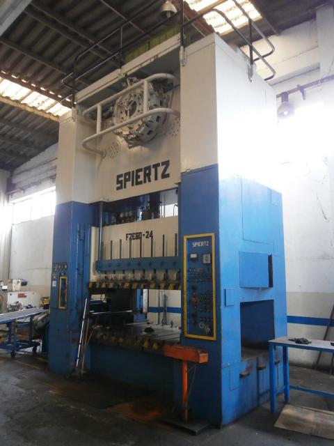 Pressa meccanica SPIERTZ 600 Ton. in vendita - foto 1