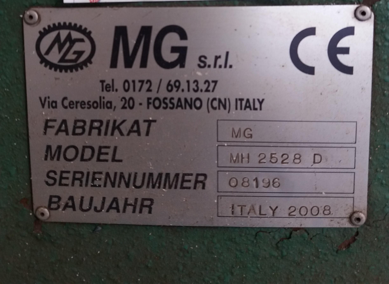 Calandra 4 rulli MG srl mod. MH2528D in vendita - foto 6