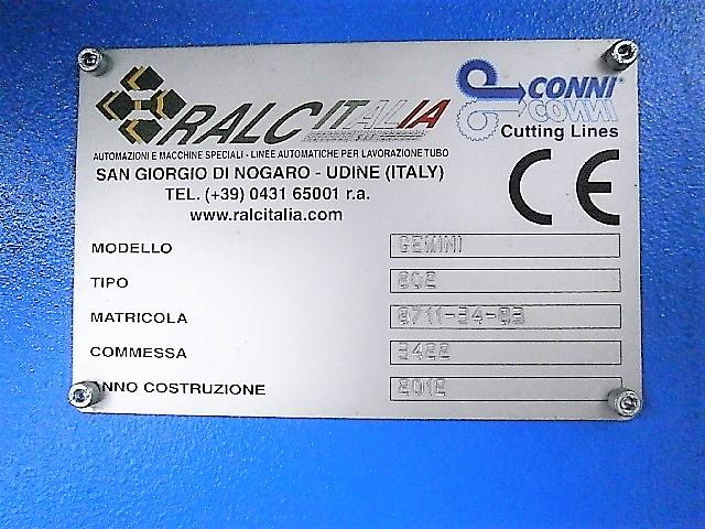 Segatrice automatica Conni Gemini 802 in vendita - foto 11