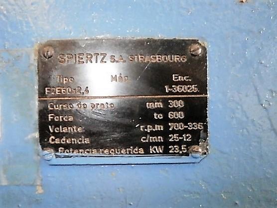 Pressa meccanica SPIERTZ 600 Ton. in vendita - foto 4
