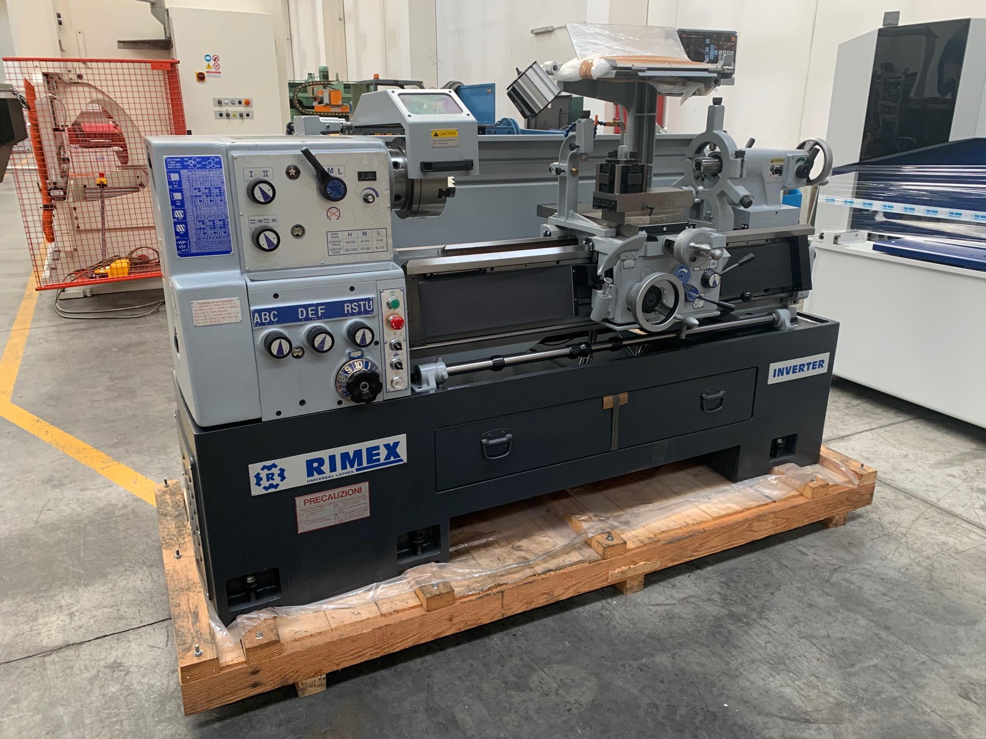 Tornio parallelo RIMEX 230 x 1100 mm in vendita - foto 5