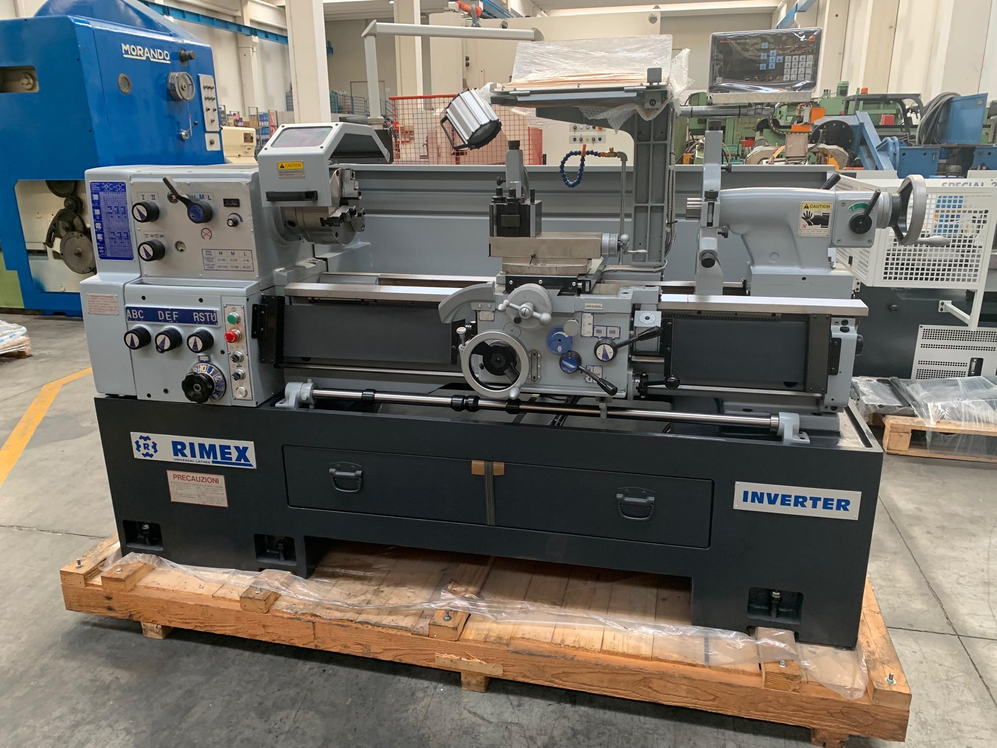 Tornio parallelo RIMEX 230 x 1100 mm in vendita - foto 1