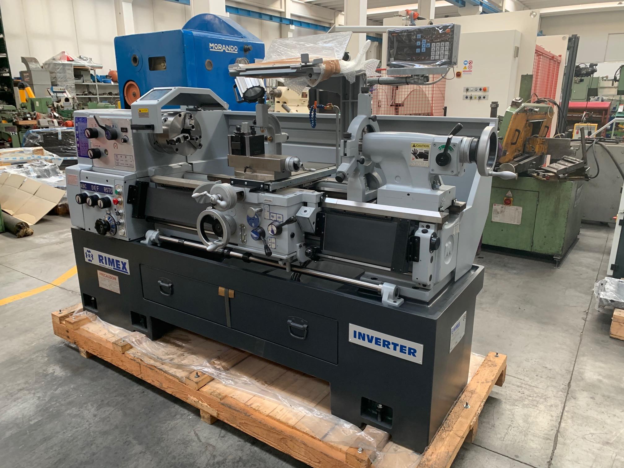 Tornio parallelo RIMEX 230 x 1100 mm in vendita - foto 4