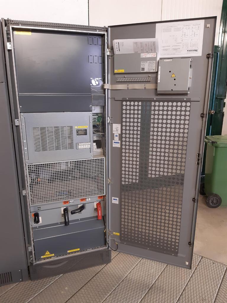 Gruppo di continuità trifase Socomec 200kVA con bypass in vendita - foto 5