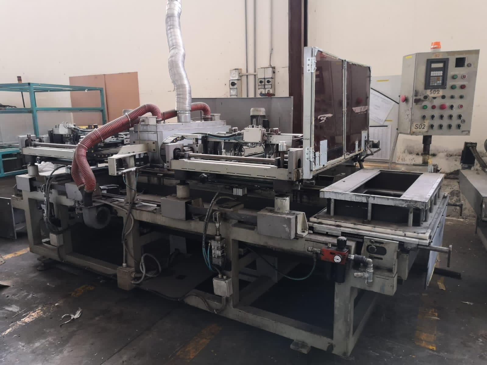 Impianto semiautomatico per serigrafia in vendita - foto 2