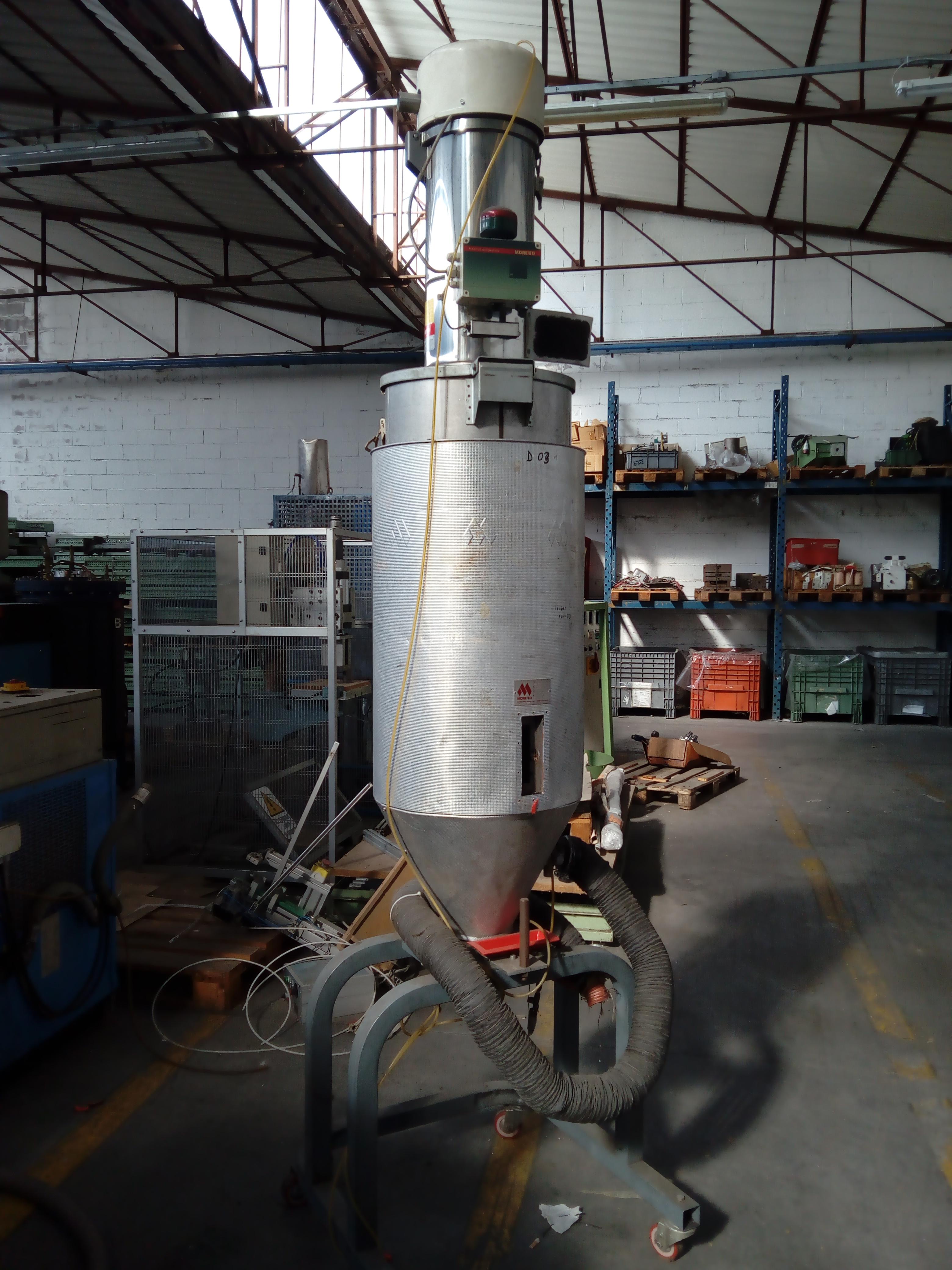 essiccatore 150 litri ed aspiratore in vendita - foto 3