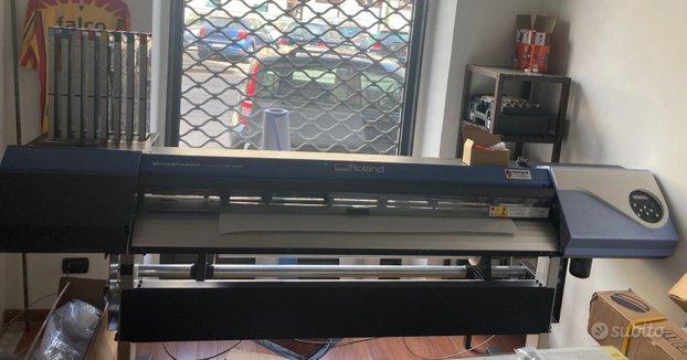 Plotter Roland VersaCamm VS-540 STAMPA E TAGLIO in vendita - foto 1