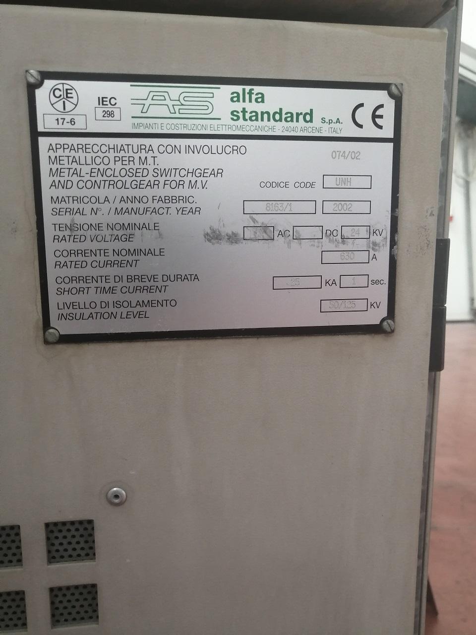 quadro elettrico di media tensione usato funzionante in vendita - foto 1