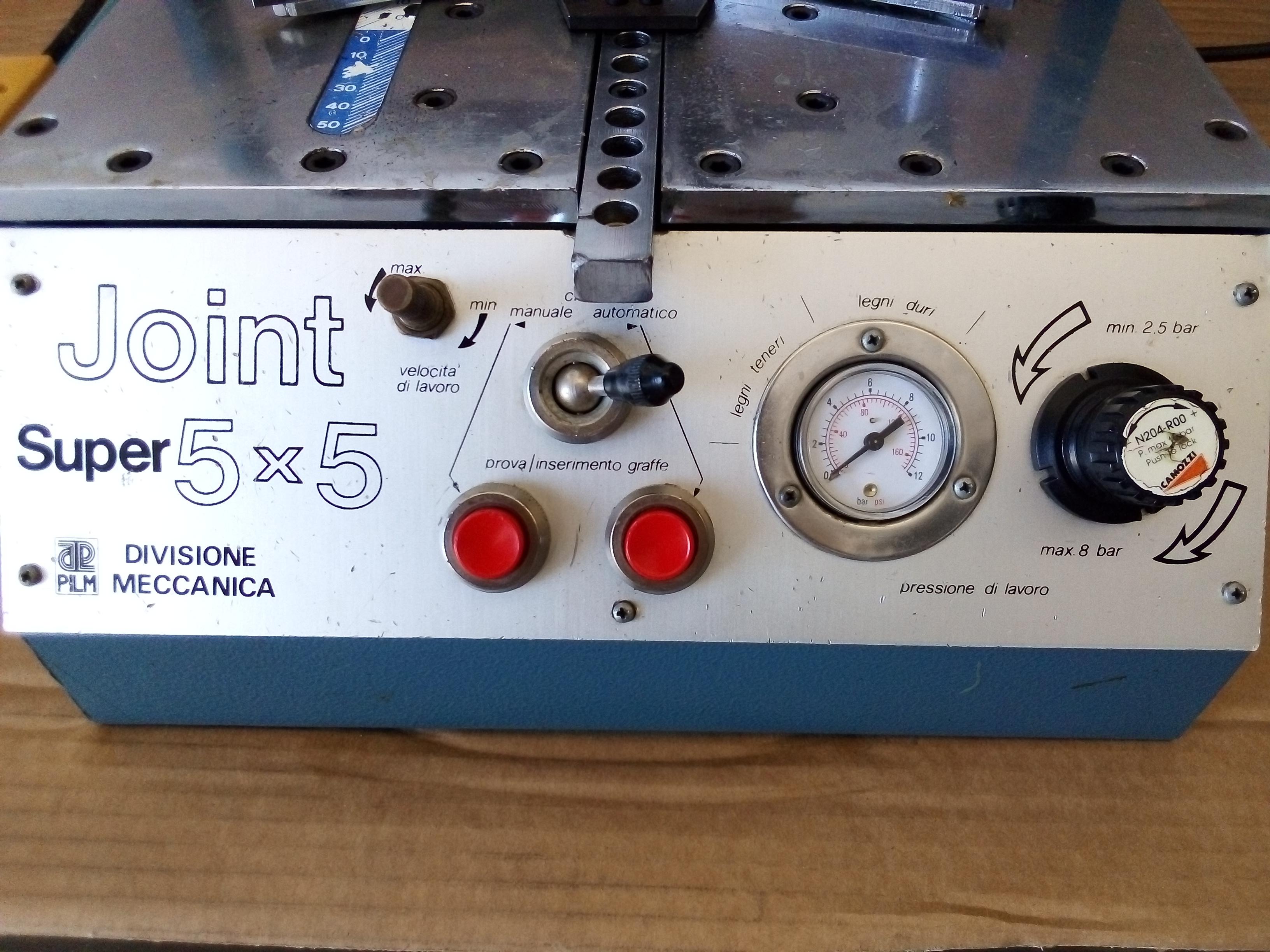 Giuntatrice pneumatica per cornici PILM JOINT 5X5 S  in vendita - foto 4
