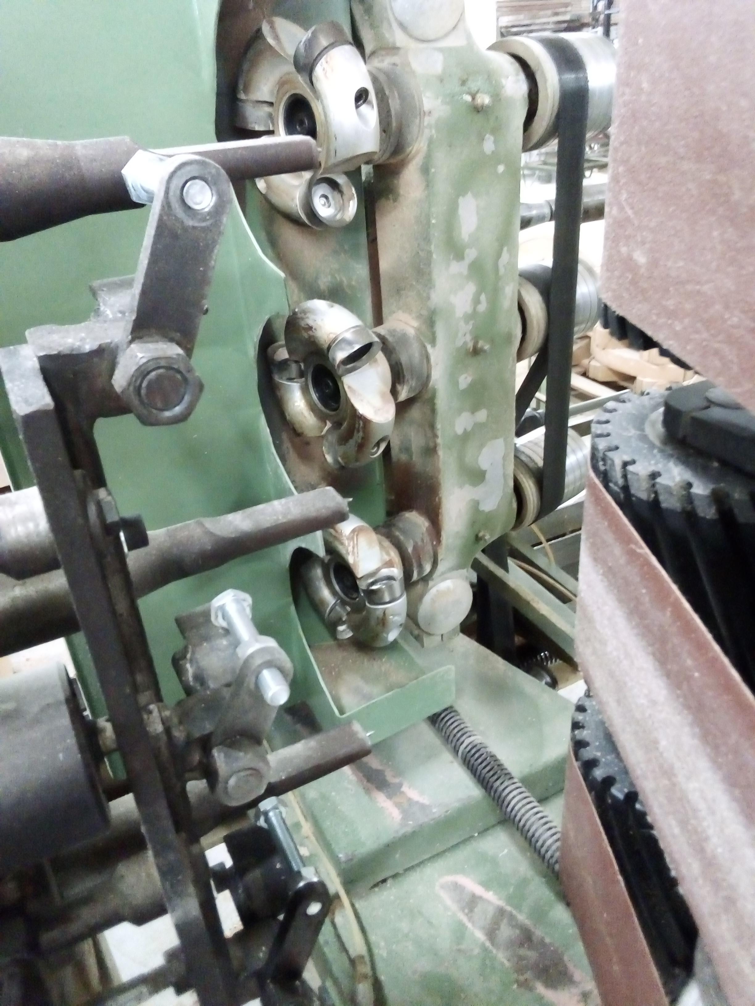 """Tornio per elementi sagomati in legno """" OMAB CG-90 """" in vendita - foto 9"""