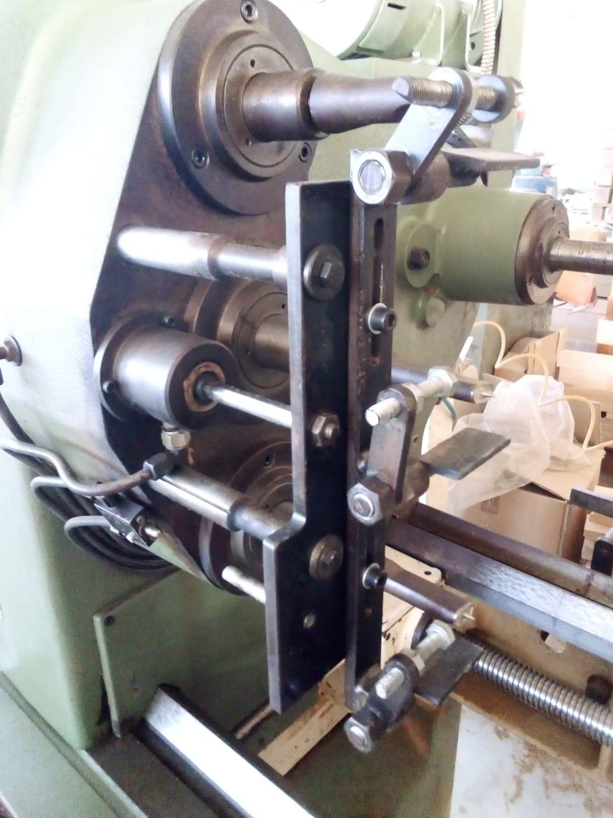 """Tornio per elementi sagomati in legno """" OMAB CG-90 """" in vendita - foto 2"""