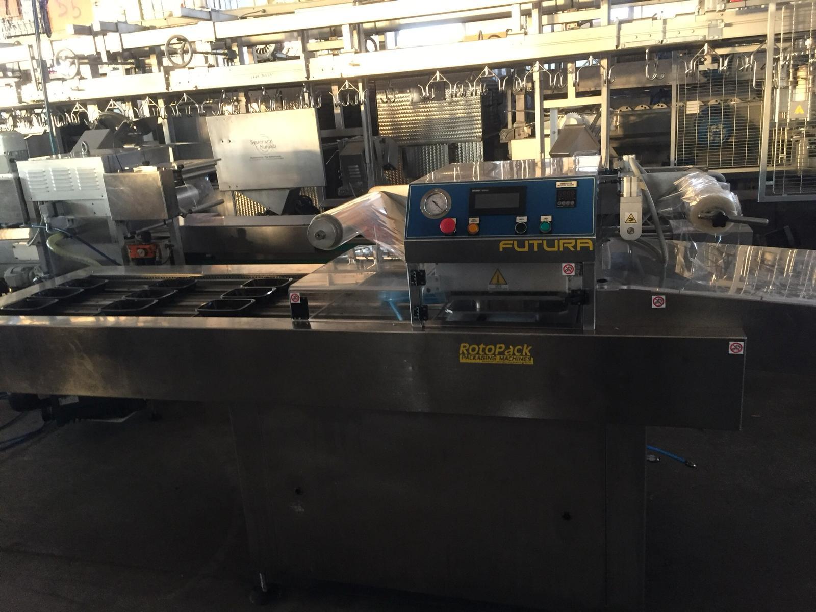Termo sigillatrice automatica per  vaschette in vendita - foto 2