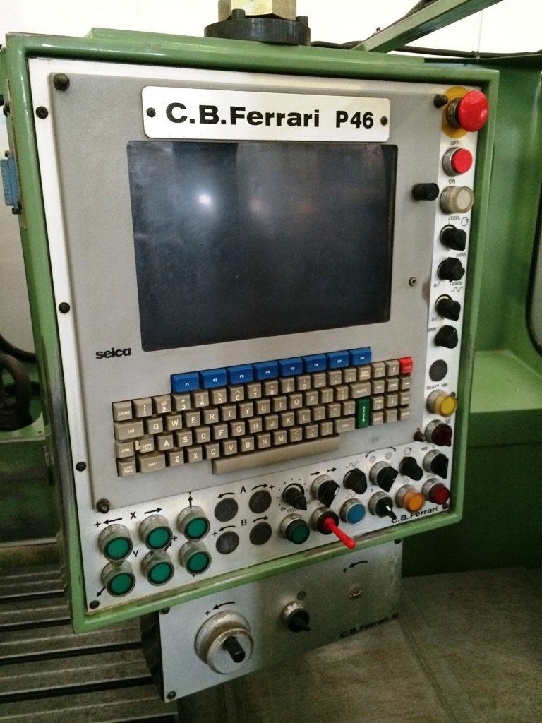 """FRESATRICE CNC """"C.B. FERRARI"""" MOD. P46 S in vendita - foto 3"""