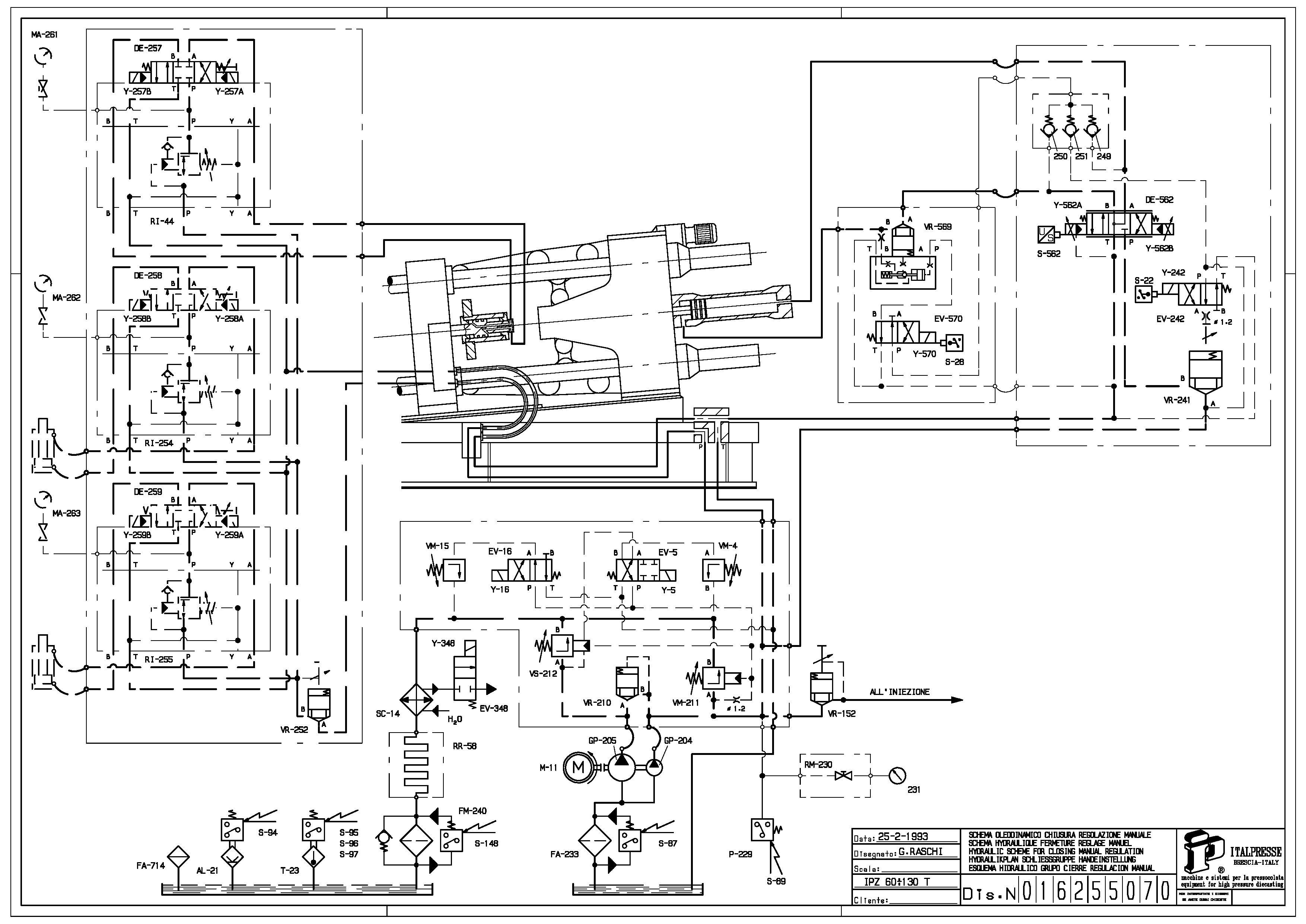 Italpresse IPZ 30 con forno 3m Z30 in vendita - foto 9