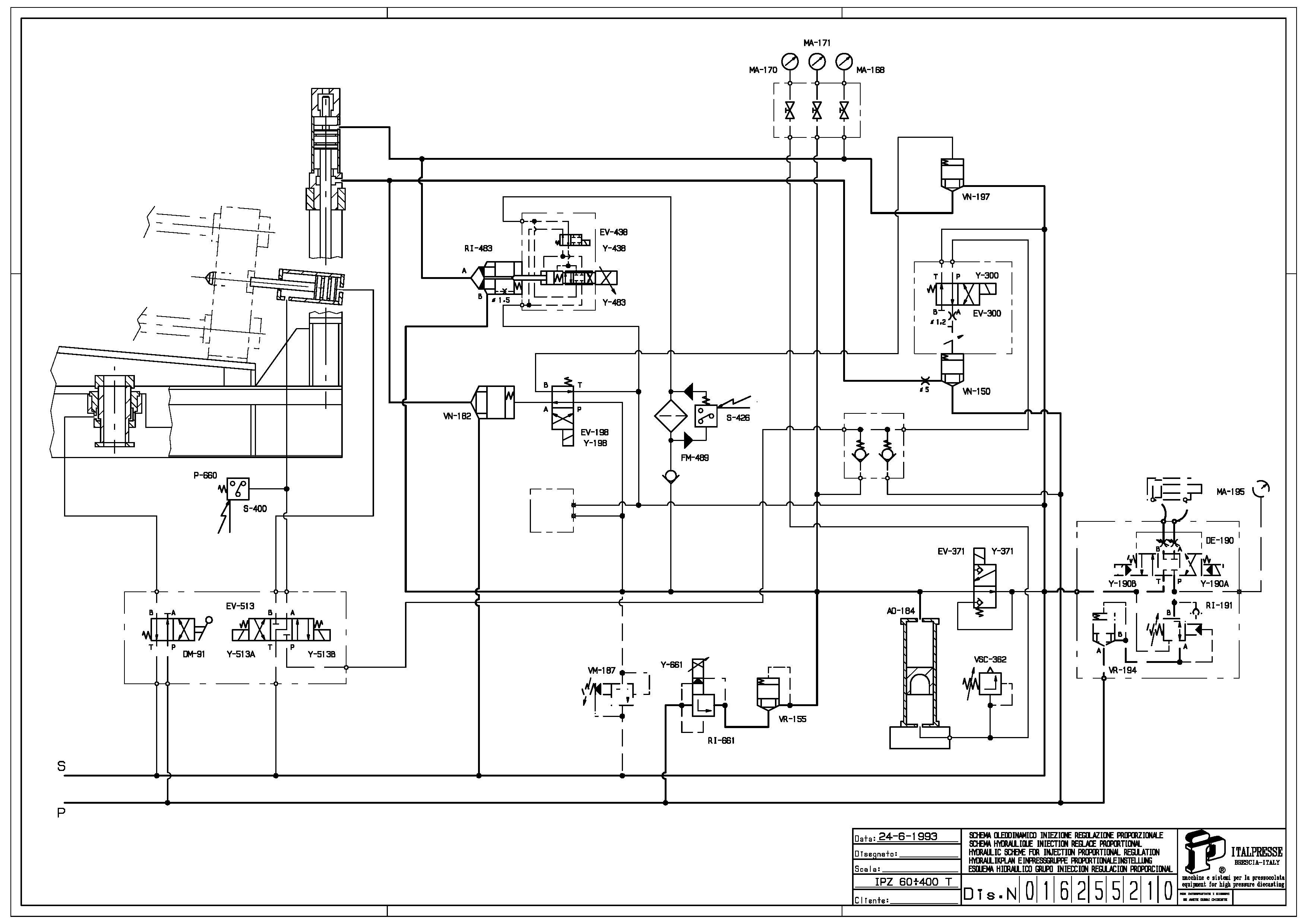 Italpresse IPZ 30 con forno 3m Z30 in vendita - foto 10
