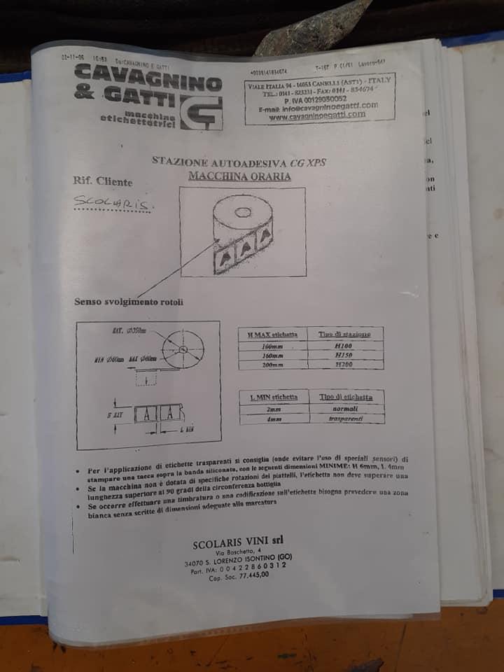 ETICHETTATRICE Cavagnino e Gatti in vendita - foto 11
