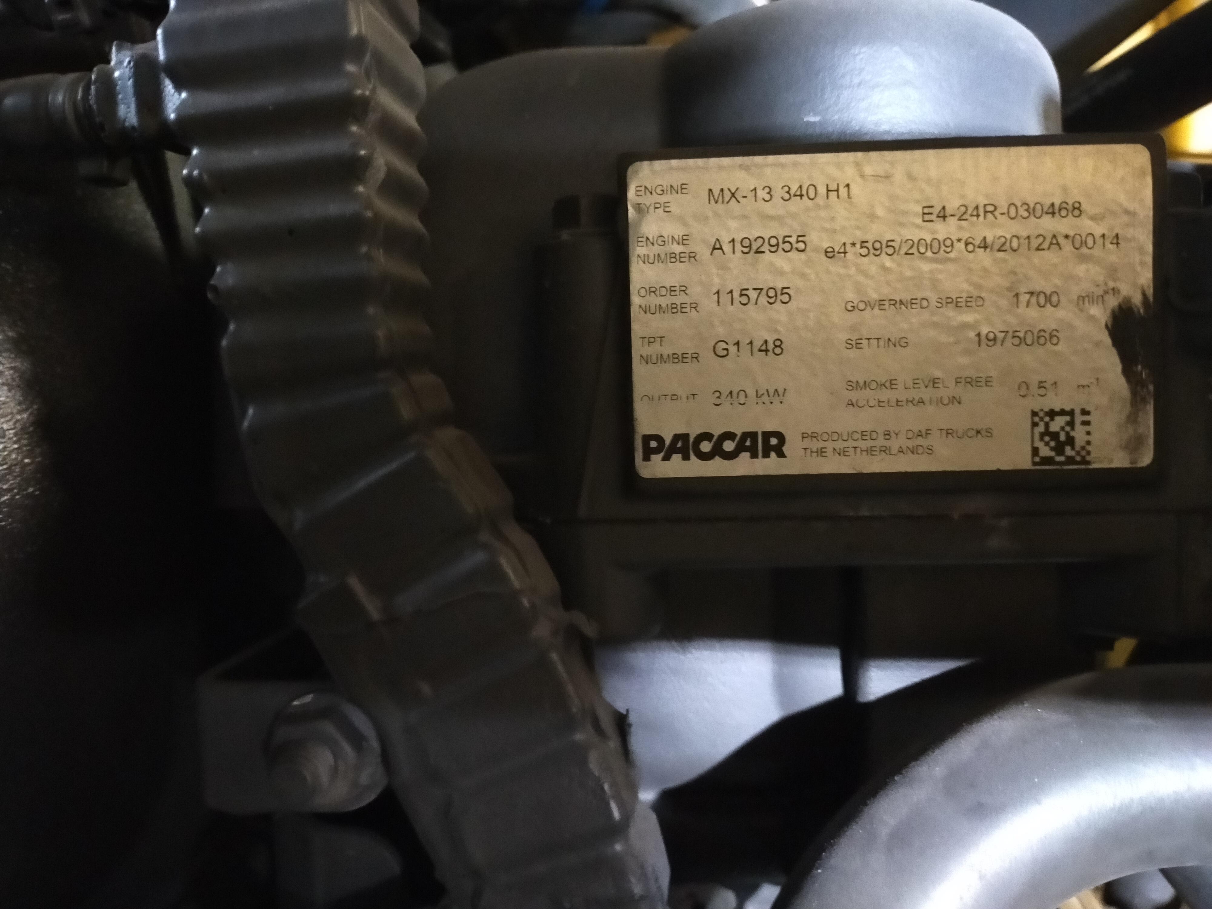 MOTORE DAF 106.460 MX13 in vendita - foto 2