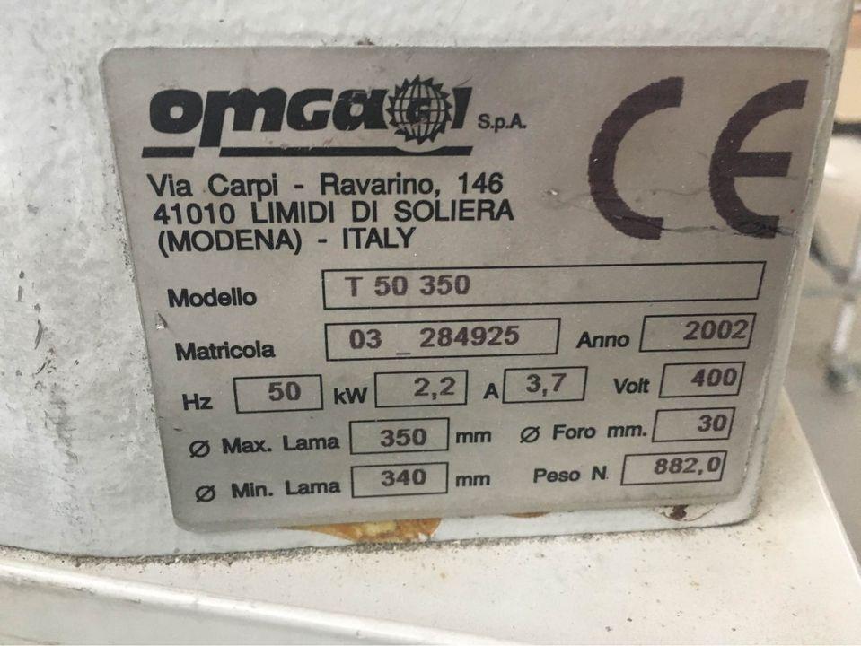 Troncatrice monotesta OMGA in vendita - foto 2
