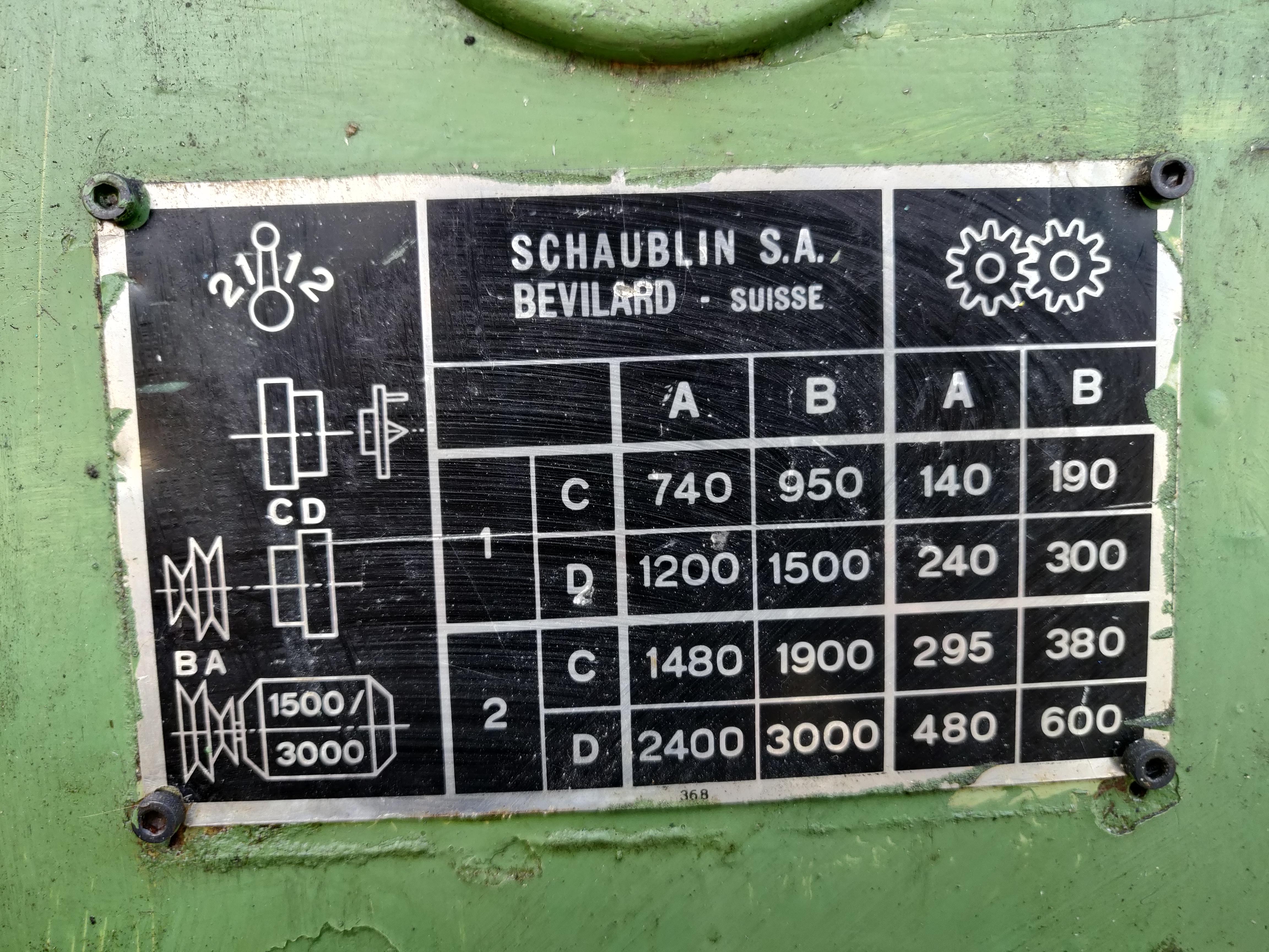 Tornio Schaublin 102 in vendita - foto 10