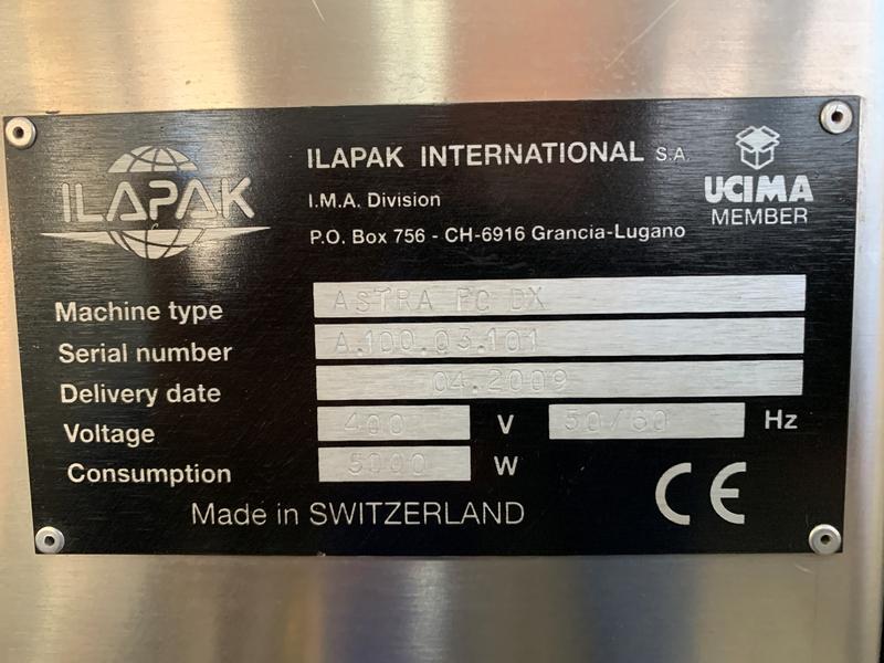 Confezionatrice Ilapak Astra in vendita - foto 14