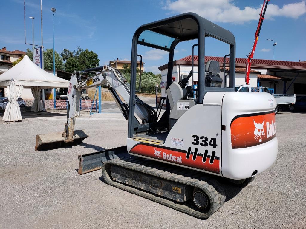 Miniescavatore usato BOBCAT 334 in vendita - foto 3