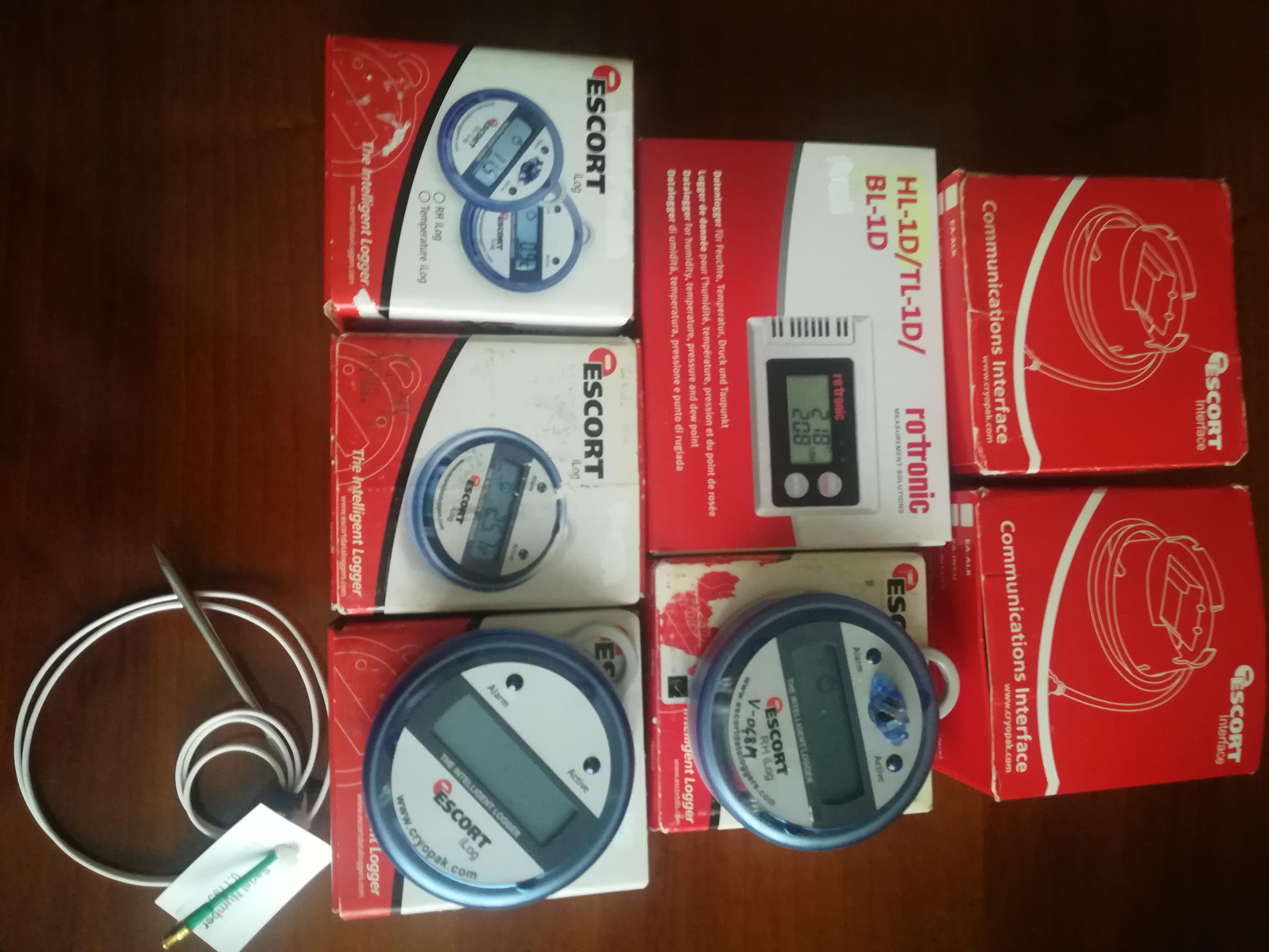 N.2 interfaccie Escort usb + N. 5 data logger  in vendita - foto 1