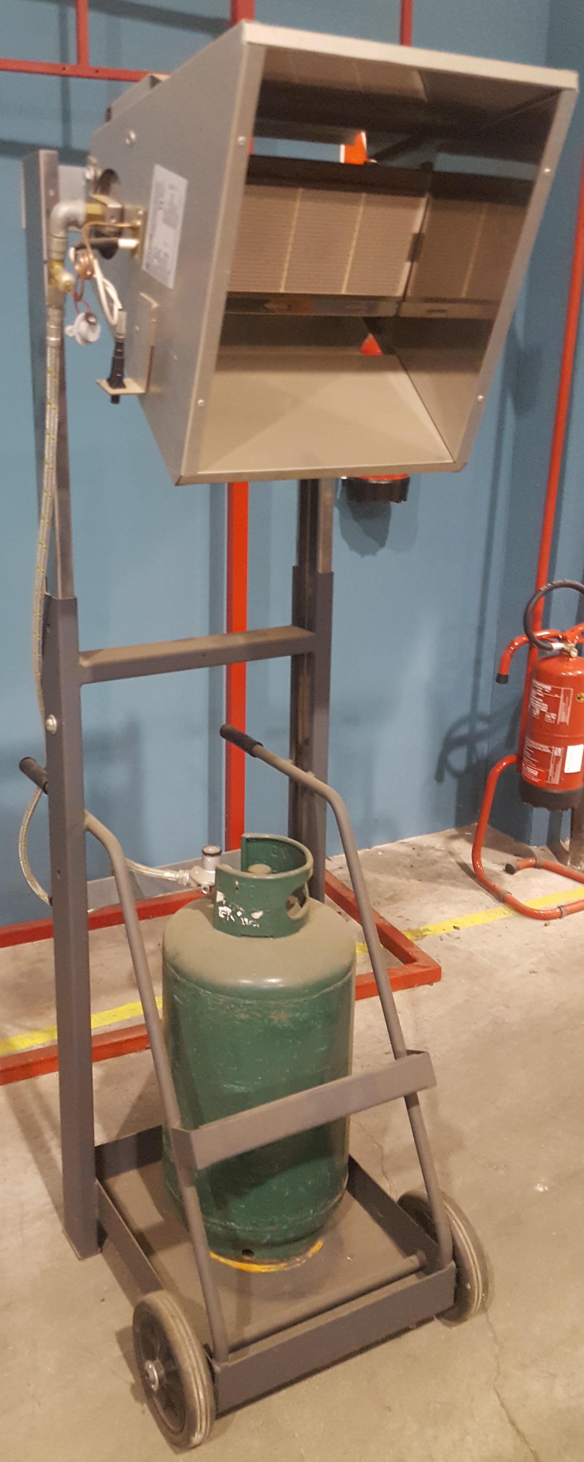 riscaldatore a gas in vendita - foto 4