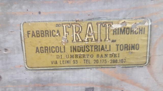 CARRELLO IN LEGNO E FERRO  in vendita - foto 4