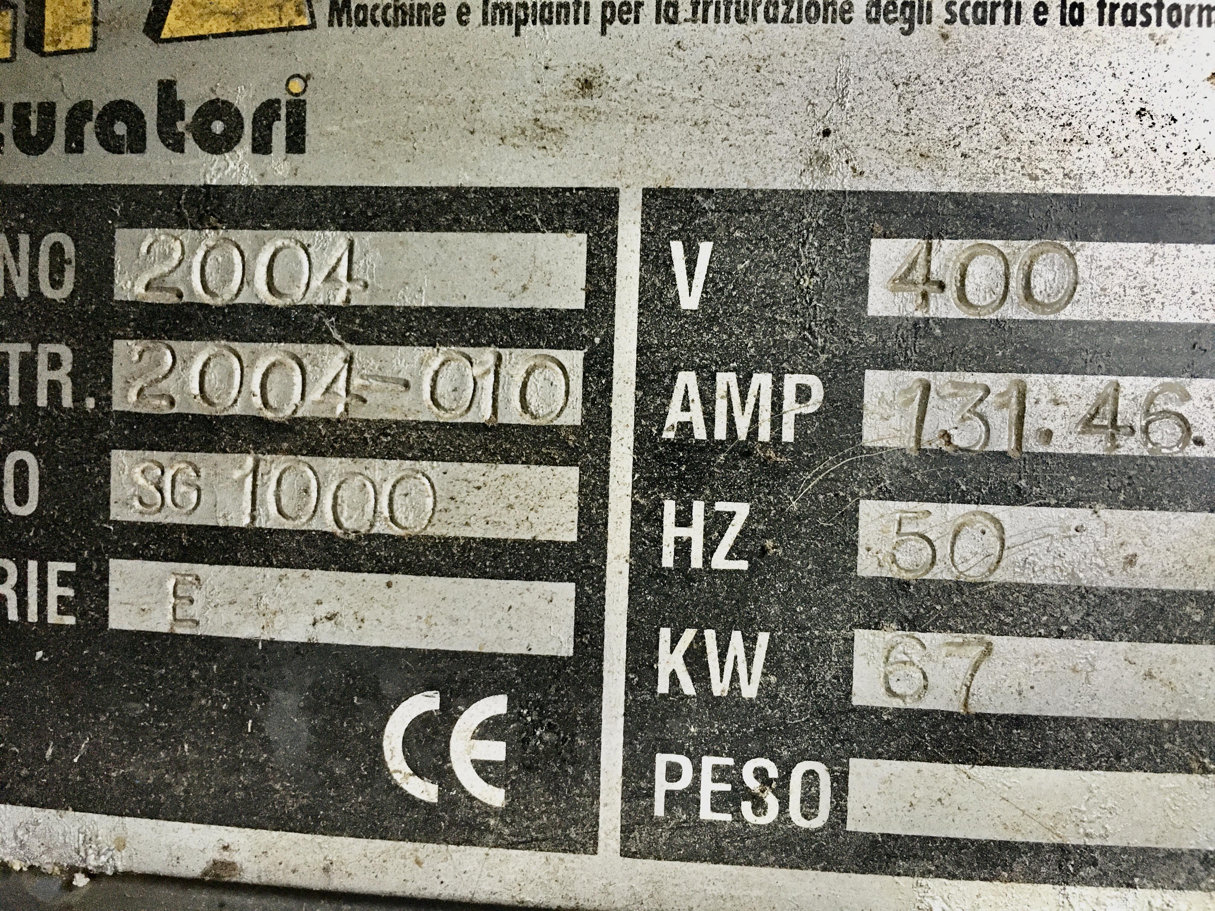 Trituratore quadrialbero TPA 1000 in vendita - foto 5
