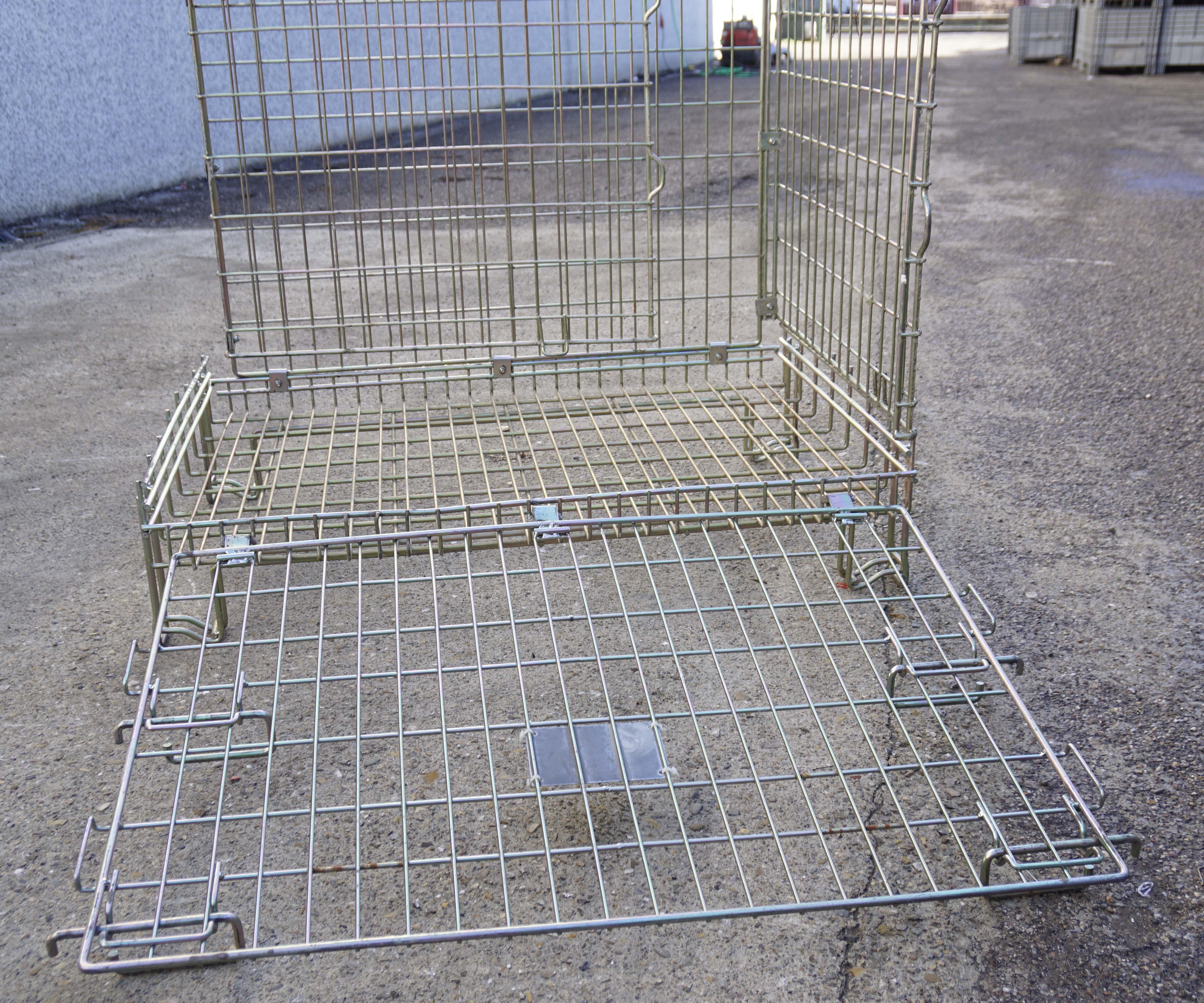Ceste o cestoni in filo metallico richiudibili in vendita - foto 9