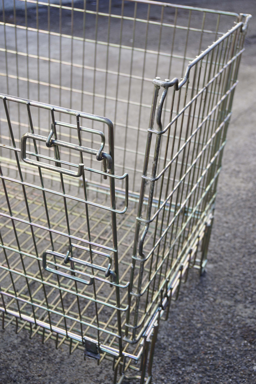 Ceste o cestoni in filo metallico richiudibili in vendita - foto 6