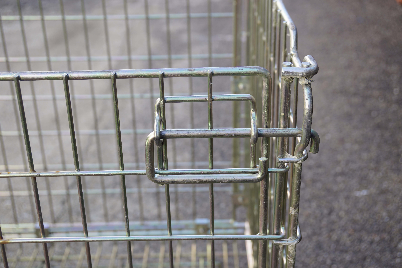 Ceste o cestoni in filo metallico richiudibili in vendita - foto 8