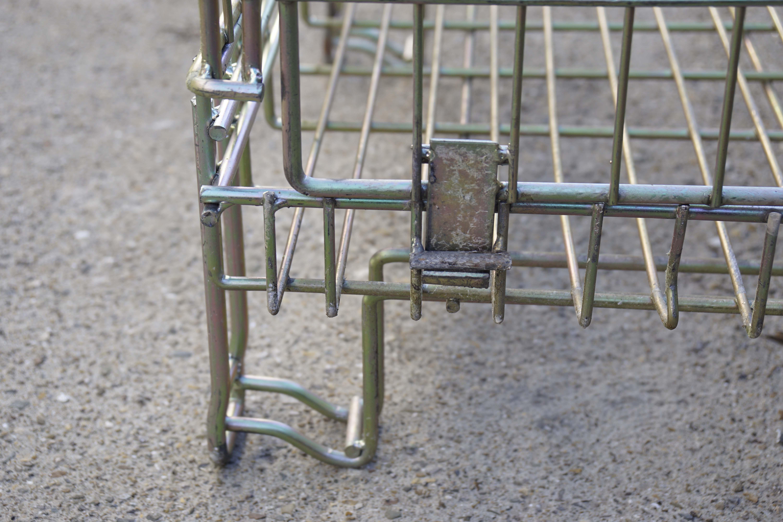 Ceste o cestoni in filo metallico richiudibili in vendita - foto 3