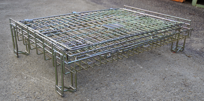 Ceste o cestoni in filo metallico richiudibili in vendita - foto 7