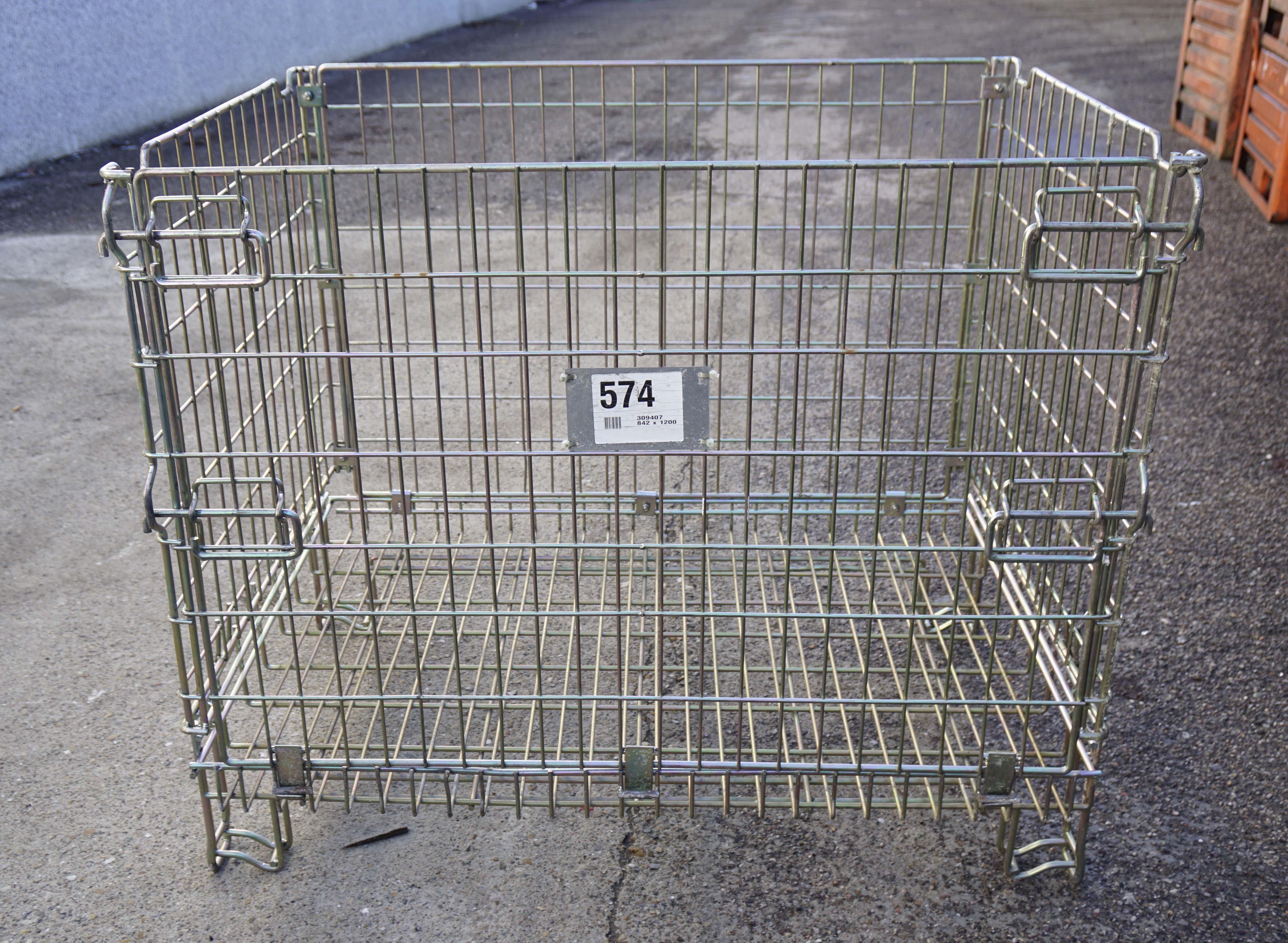 Ceste o cestoni in filo metallico richiudibili in vendita - foto 1