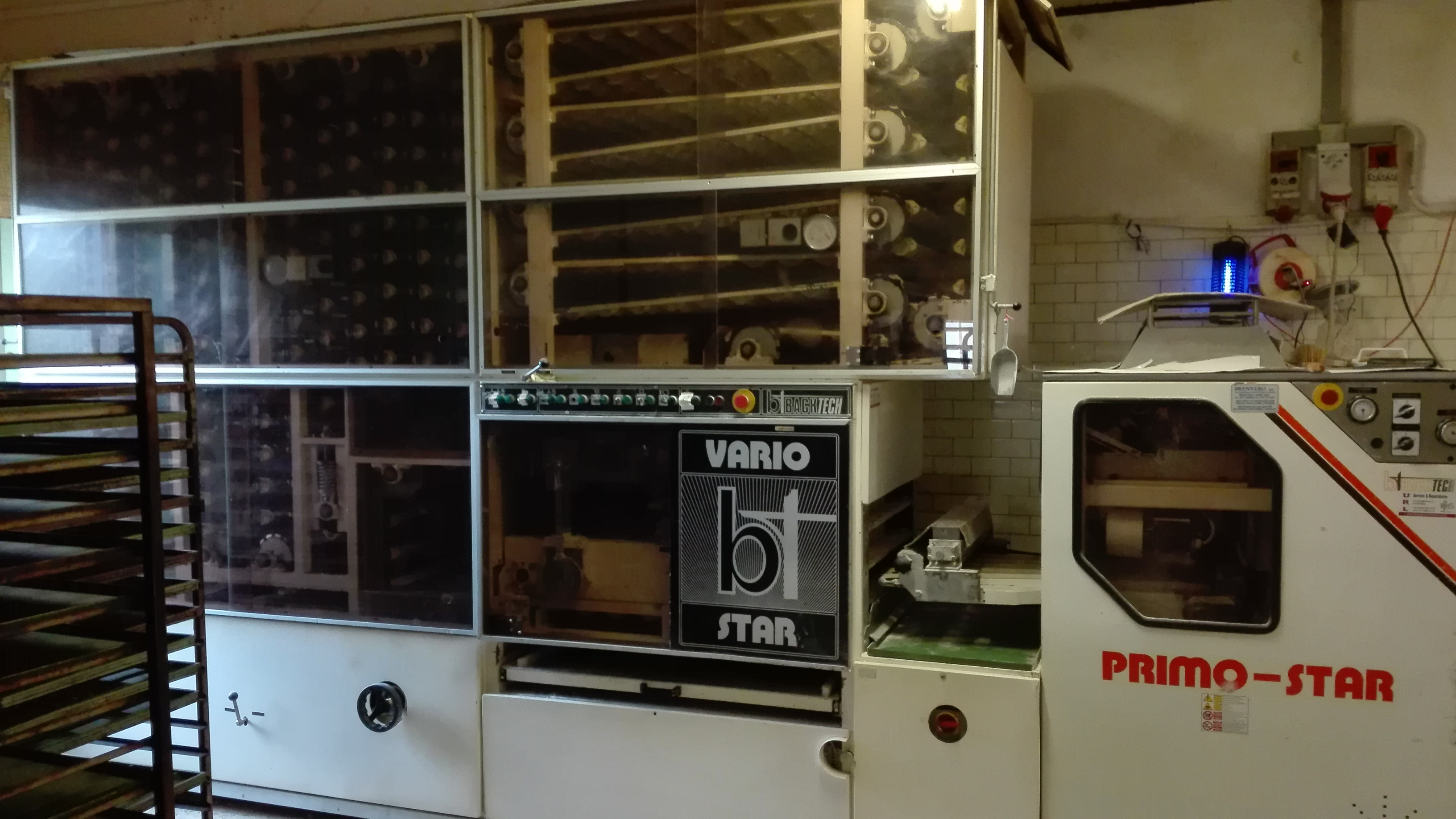 Linee produzione di pane, pizze o pasta in vendita