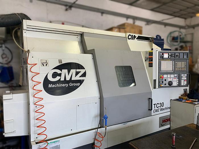 Tornio CNC usato CMZ TC-30-800 in vendita - foto 1