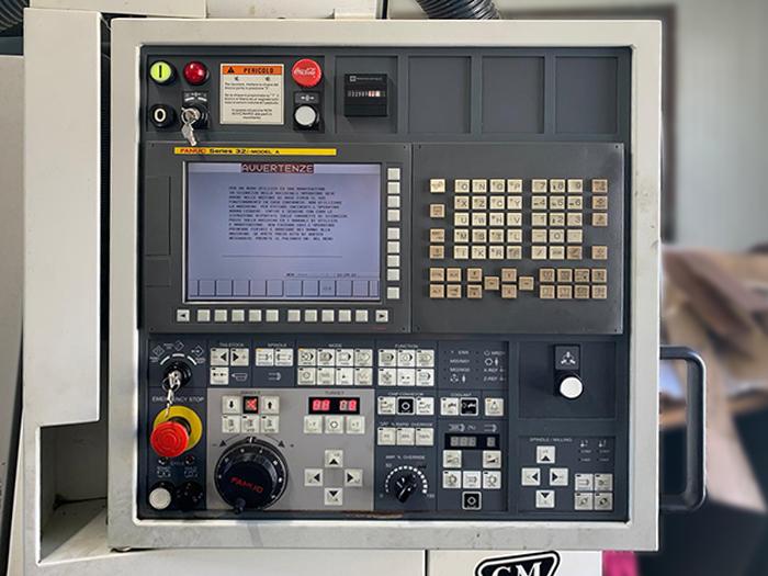 Tornio CNC usato CMZ TL 25 B M in vendita - foto 4