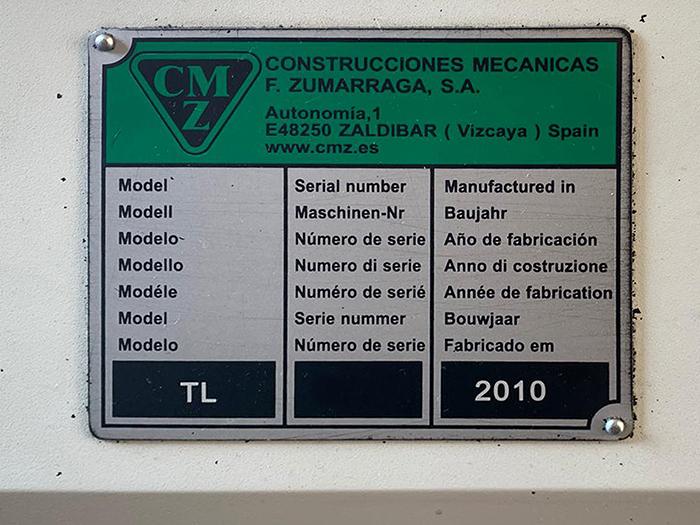 Tornio CNC usato CMZ TL 25 B M in vendita - foto 5
