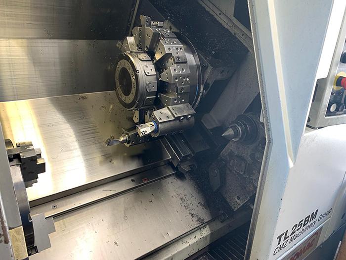 Tornio CNC usato CMZ TL 25 B M in vendita - foto 3
