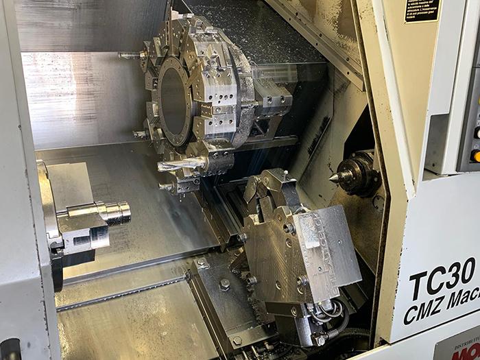 Tornio CNC usato CMZ TC-30-800 in vendita - foto 2