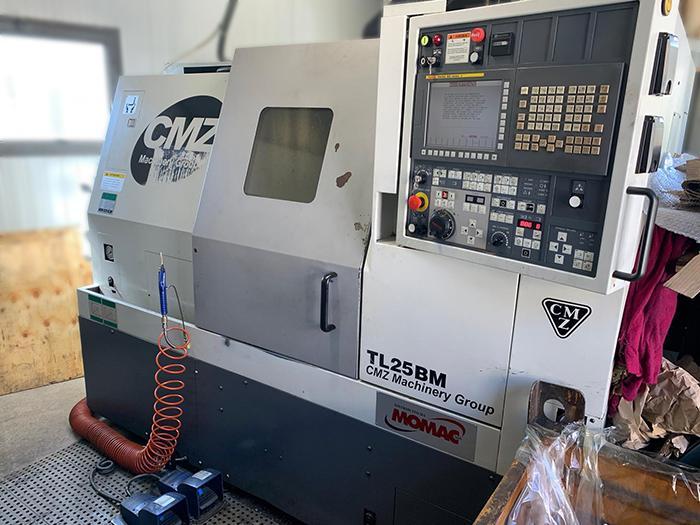 Tornio CNC usato CMZ TL 25 B M in vendita - foto 1