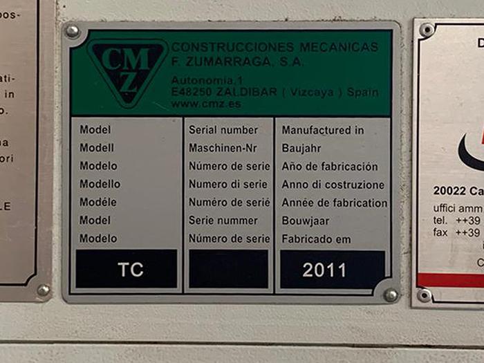 Tornio CNC usato CMZ TC-30-800 in vendita - foto 5